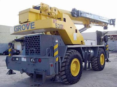 Detail photo of 2002 Grove RT530E from Construction Equipment Guide
