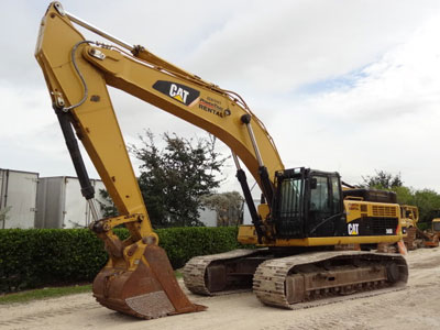 2010 CATERPILLAR 345DL