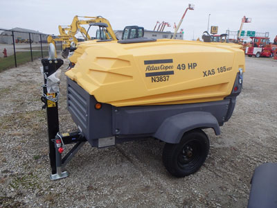 Detail photo of 2014 Atlas Copco XAS 185 KD7 from Construction Equipment Guide