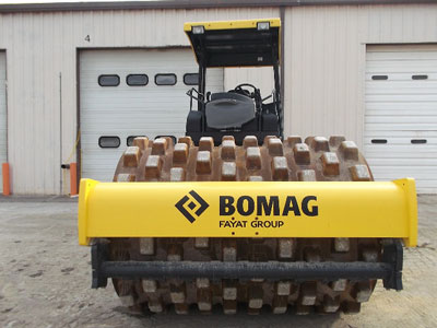 Detail photo of 2015 Bomag BW213PDH-4 from Construction Equipment Guide