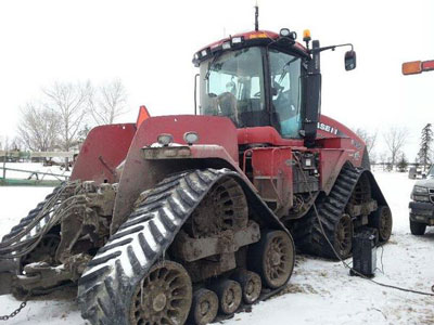 Detail photo of 2011 Case IH 450Q from Construction Equipment Guide